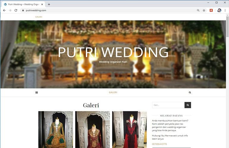 Putri Wedding – Situs jasa rias pengantin