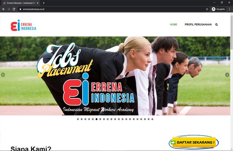 Errena Indonesia – Indonesian Migrant Worker Academy