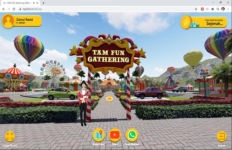 360 Virtual Park Front-End & Back-End