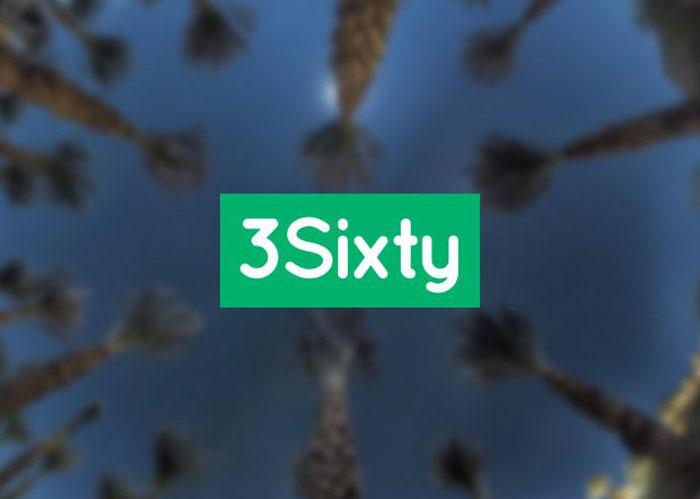 Cara membuat tur virtual panorama 360 derajat dengan software gratis 3Sixty