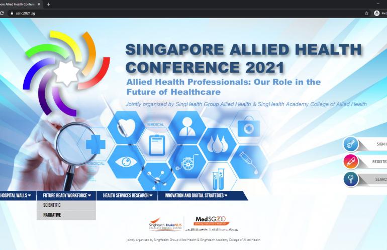Konfrensi Kesehatan SAHC2021