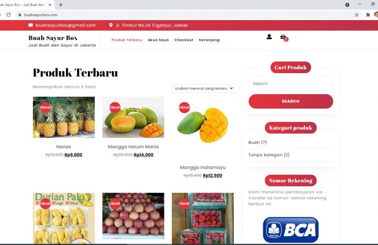 Jasa pembuatan website toko online untuk berjualan sendiri