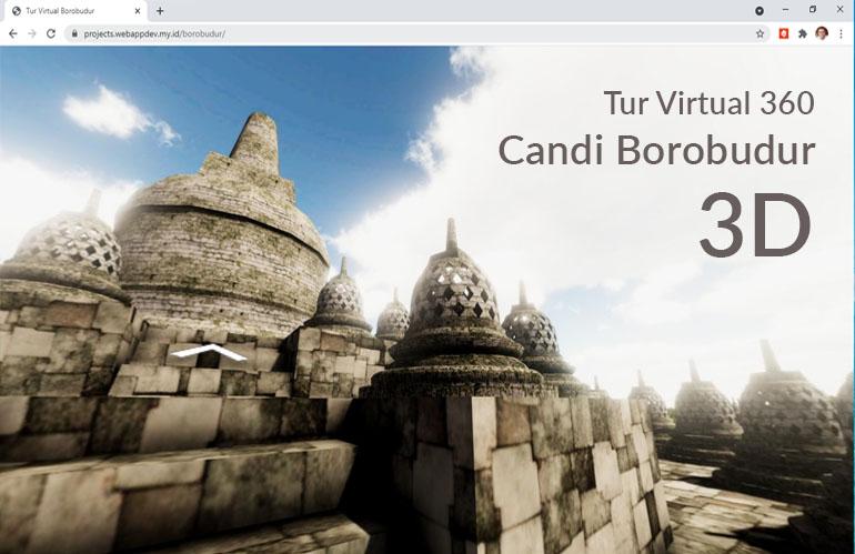 Tur Virtual 360 Candi Borobudur 3D